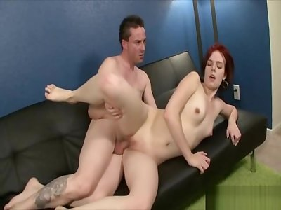 Natali jumped right on this cock