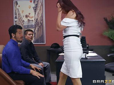 Monique Alexander gets her pussy filled with hard and strong boner