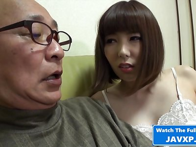 Japanese MILF Germane to Horny Be beneficial to Grandpa