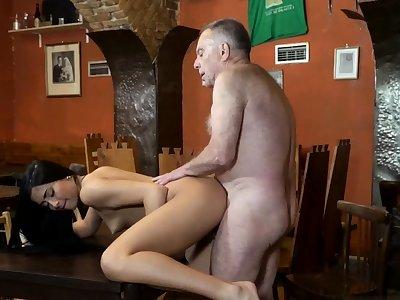 Teen gagging anal and sky pilot teaches xxx Derriere you trust