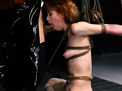 Bdsm gangbang hd Sexy youthful girls, Alexa Morning star with an increment of