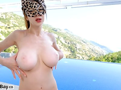 In you go lads - POV blowjob by the unify with astonishing views outdoors